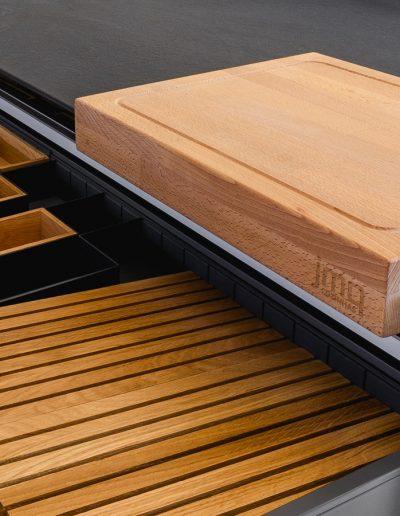 Interior accessories for Kitchen and cutting board JMQ Cozinhas